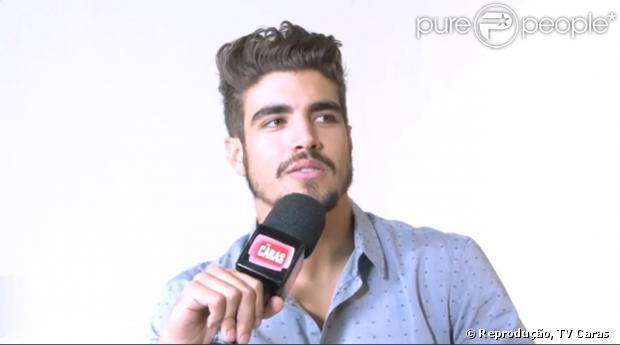 mundo da fama: Caio Castro diz que fãs aprovaram novo ...