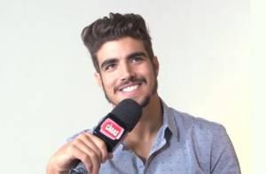 Caio Castro diz que fãs aprovaram novo visual: 'Todo mundo gostou'
