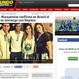 Término de Neymar e Bruna Marquezine é noticiado pelo veículo espanhol 'Mundo Desportivo'