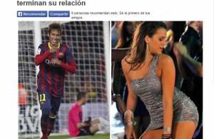 Neymar e Bruna Marquezine: fim do namoro ganha destaque fora do Brasil