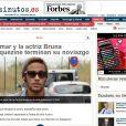 Neymar e Bruna Marquezine colocam um ponto final no namoro e a notícia ganha destaque na imprensa internacional