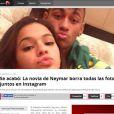 Bruna Marquezine apagou todas as suas fotos com Neymar de sua conta no Instagram