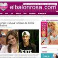 Ainda na Espanha, o site 'El Balon Rosa' também repercutiu o fim do relacionamento de Neymar e Bruna Marquezine