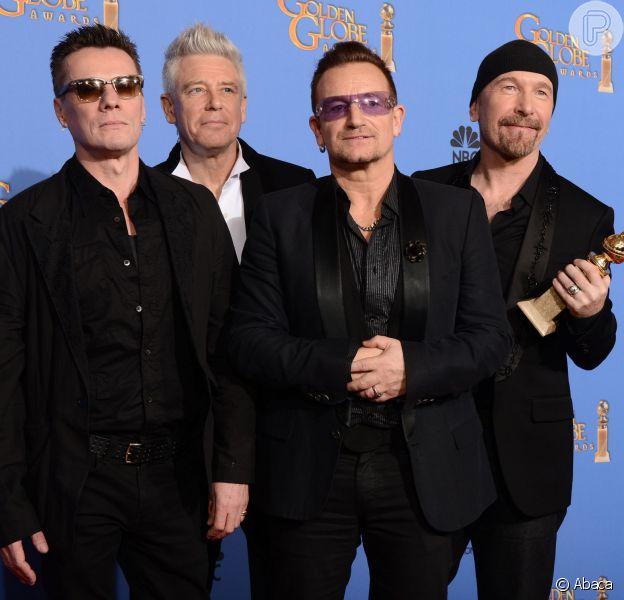 A banda U2 é atração confirmada no Oscar 2014