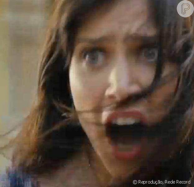 Mel Lisboa se despediu da novela 'Pecado Mortal' no capítulo desta quinta-feira (13 de fevereiro de 2014)