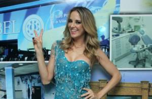 Carnaval 2014: Ticiane Pinheiro é apresentada como musa na quadra da Vila Isabel