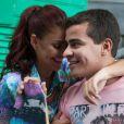 A morena garantiu que o namorado, Thiago Martins, não está com ciúme: 'Ele está me apoiando muito'