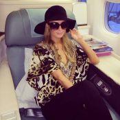 Paris Hilton chega ao Brasil para sua festa de aniversário em pleno Carnaval