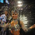 Desfile da Beija-Flor de Nilópolis na madrugada desta segunda-feira, 3 de março de 2014, na Marquês de Sapucaí, no Rio de Janeiro