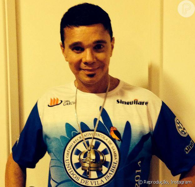 Netinho passa mal e desiste de ir à Sapucaí, em 03 de março de 2014