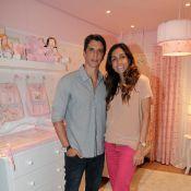 Márcio Garcia diz que Andréa Santa Rosa fará parto em casa e elogia: 'Supermãe'