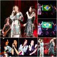 Ivete Sangalo dança e canta com Laura Pausini no palco do Madison Square