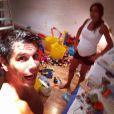 Márcio Garcia revelou que o filho João nasceu de parto humanizado mesmo Andréa Santa Rosa estando com sete meses de gravidez