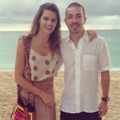 Isabelli Fontana e Di Ferrero relaxam em clima de lua de mel em Barbados, Caribe