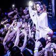 Wanessa leva tombo em show na boate E-Dub, em Sorocaba, São Paulo