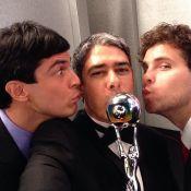 William Bonner faz mais de 30 'selfies' no Melhores do Ano. Veja outras fotos!