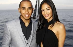 Nicole Scherzinger aceita pedido de casamento de Lewis Hamilton: 'Em agosto'