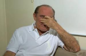 Após infarto, Renato Aragão chora e revela pedido: 'Deus, não me leve agora'