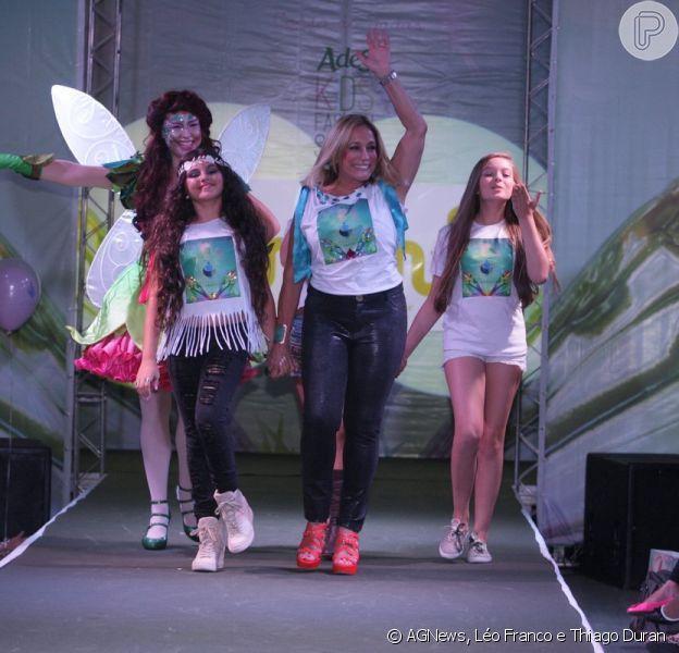 Susana Vieira participa de evento de moda infantil em São Paulo