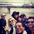 O elenco de Geração Brasil esteve na Califórnia, nos Estados Unidos, para as gravações da trama