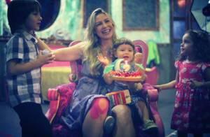 Luana Piovani comemora aniversário de dois anos do filho, Dom: 'Traz alegria'