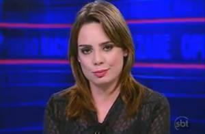 Rachel Sheherazade entra de férias após início de investigação contra ela
