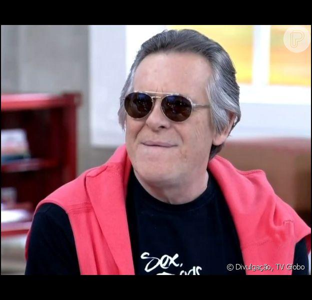 Um dos convidados do programa 'Encontro', José de Abreu falou sobre a morte de Ernest, seu personagem em 'Joia Rara', que chega ao fim na  noite desta sexta-feira, 4 de abril de 2014