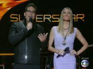 Fernanda Lima e André Marques fazem estreia descontraída no reality 'Superstar'