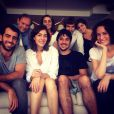 A jornalista agradeceu ao ator pela família deixada