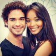 Carol Nakamura e Sidney Sampaio começaram a namorar em 2007 e terminaram em 2009. O reencontro aconteceu em 2013
