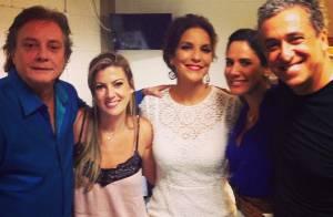 Fábio Jr. aparece em foto com namorada, Fernanda Pascucci, pela primeira vez