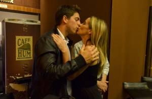 Danielle Winits estreia peça no Rio e ganha o carinho do namorado, Amaury Nunes