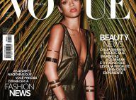 Rihanna estampa duas capas em edição de aniversário de revista brasileira