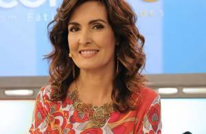 Fátima Bernardes cogita fazer cirurgia plástica e diz: 'Não posso ter olheiras'