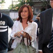 Zezé Polessa vai a delegacia depor sobre morte de motorista da Globo