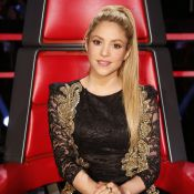 Shakira usa vestido da estilista brasileira Patricia Bonaldi no 'The Voice'