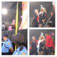 Christina Aguilera empolgou o público presente no festival