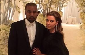 Kim Kardashian e Kanye West estão oficialmente casados