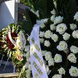 Coroas de flores no enterro do filho de Erasmo Carlos, Alexandre Pessoal