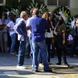 Familiares se despedem do cantor Alexandre Pessoal, filho de Erasmo Carlos
