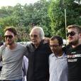 Além dos filhos, Erasmo Carlos recebeu o apoio de fãs e amigos