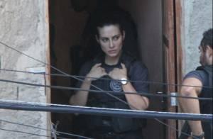Cleo Pires está tirando porte de arma após aulas de tiro para filme policial