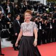 Catherine Frot prestigia a première do filme 'Saint Laurent' no Festival de Cannes 2014