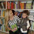 Eliana resolveu fazer um programa mais em família neste sábado 17 de maio de 2014