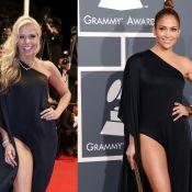 Adriane Galisteu repete em Cannes look usado por Jennifer Lopez no Grammy 2013
