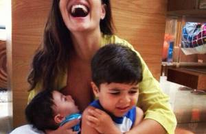 Juliana Paes comenta a relação com fãs em redes sociais: 'Gosta de ter contato'