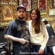 Até Bruna Marquezine já entrou na onda do namorado, Neymar, e fez algumas tattoos, optando por desenhos mais discretos