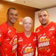 Mário Zagallo foi à um evento recentemente com Ronaldo e Cafú