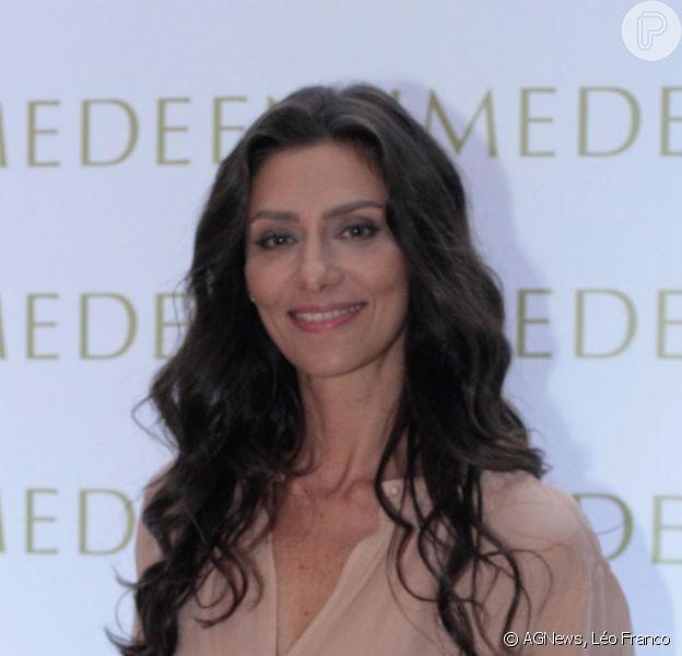 Maria Fernanda Cândido 'não faz preenchimento, nem botox', afirma dermatologista Jardis Volpi à colunista Mônica Bergamo, da 'Folha de S. Paulo'