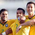 Daniel Alves foi o responsável pelo segundo gol da Seleção